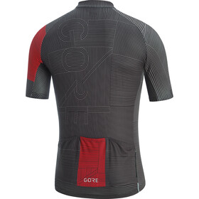 GORE WEAR C3 Line Maillot Hombre, black/red